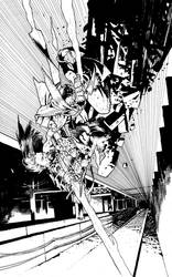 BIRTHRIGHT #13 cover BW