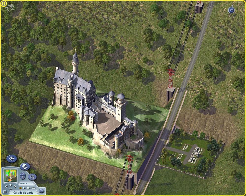 Vania Castle by SimCityMaps