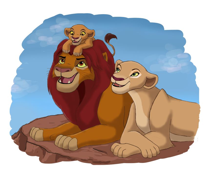 The Lion King 2 Family By Blueiceflower On Deviantart