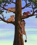 Best Friends AU: Tree Climbing Contest