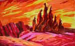 Screencap redraw - Outlands by iceflowerglow
