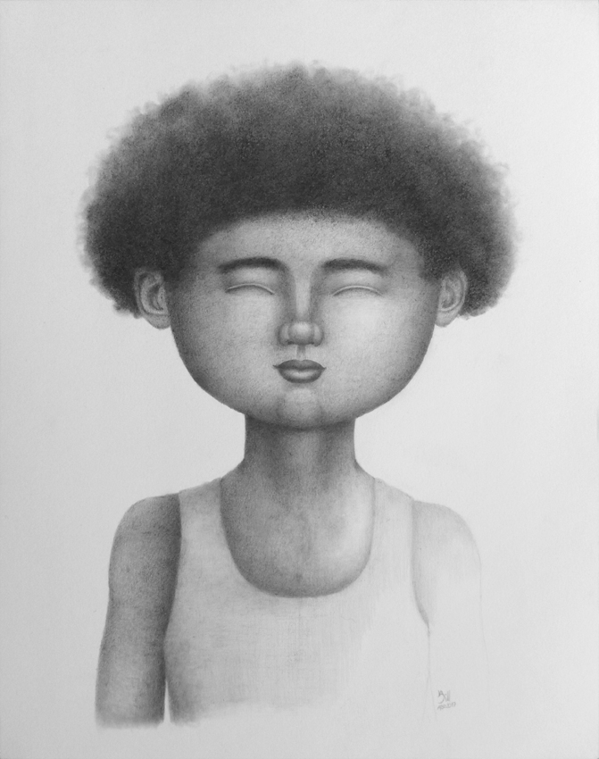 Dibujo - Rostro Afro by BILLNEW