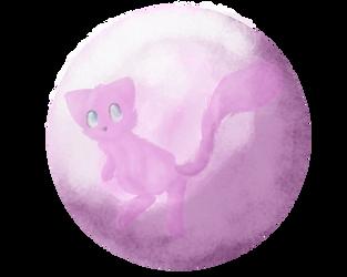 Mew by Candy-Bat
