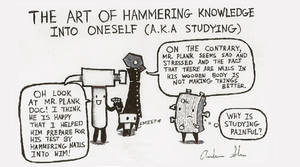 The Art of Hammering Knowledge Into Someone