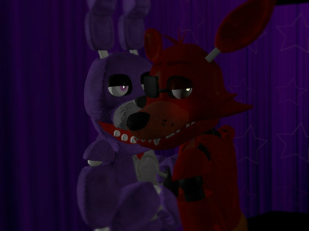23 related wallpapers foxy x bonnie by ask fnaf