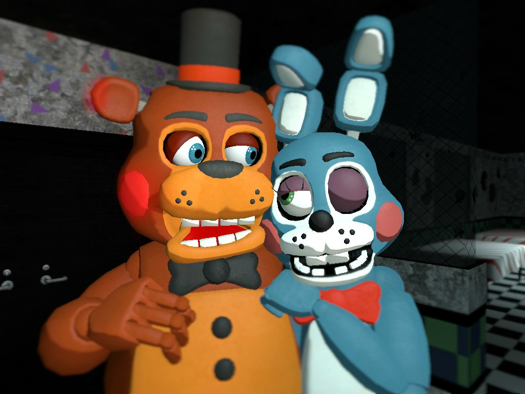 Five Nights At Freddy S Toy Freddy X Toy Bonnie By