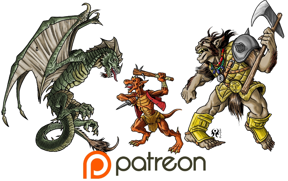 New Patreon release by artikid