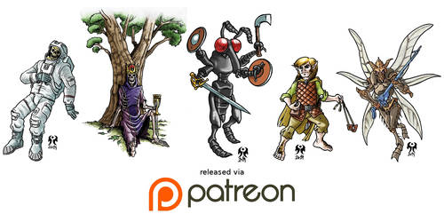Patreon February 2019 release by artikid