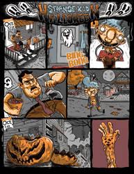 Strange Kid Halloween Special by German-Orozco