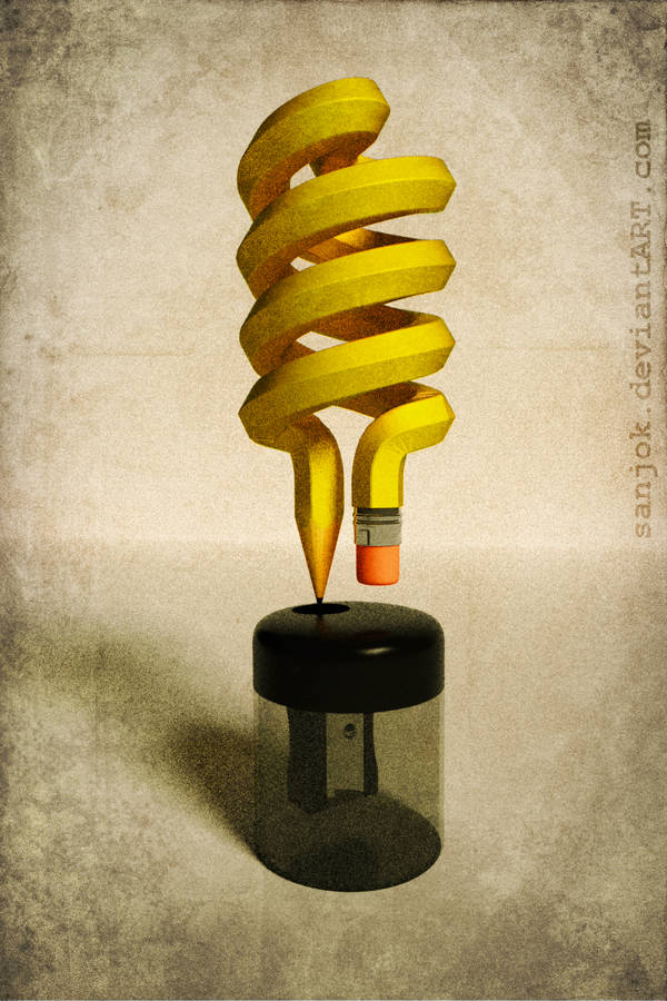 Art Bulb by AlexPlatonov