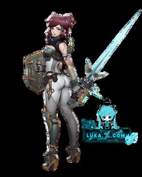 [RENDER-DEATHVERSE]Swordsman