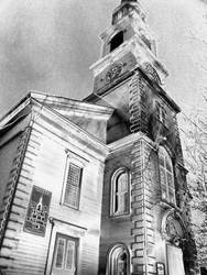 Church White Steel by MaynardModernMedia