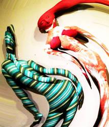 Dancing Dolls by MaynardModernMedia