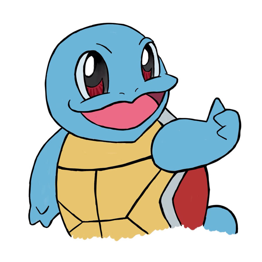 Squirtle by R-A-b-b-o-t-t
