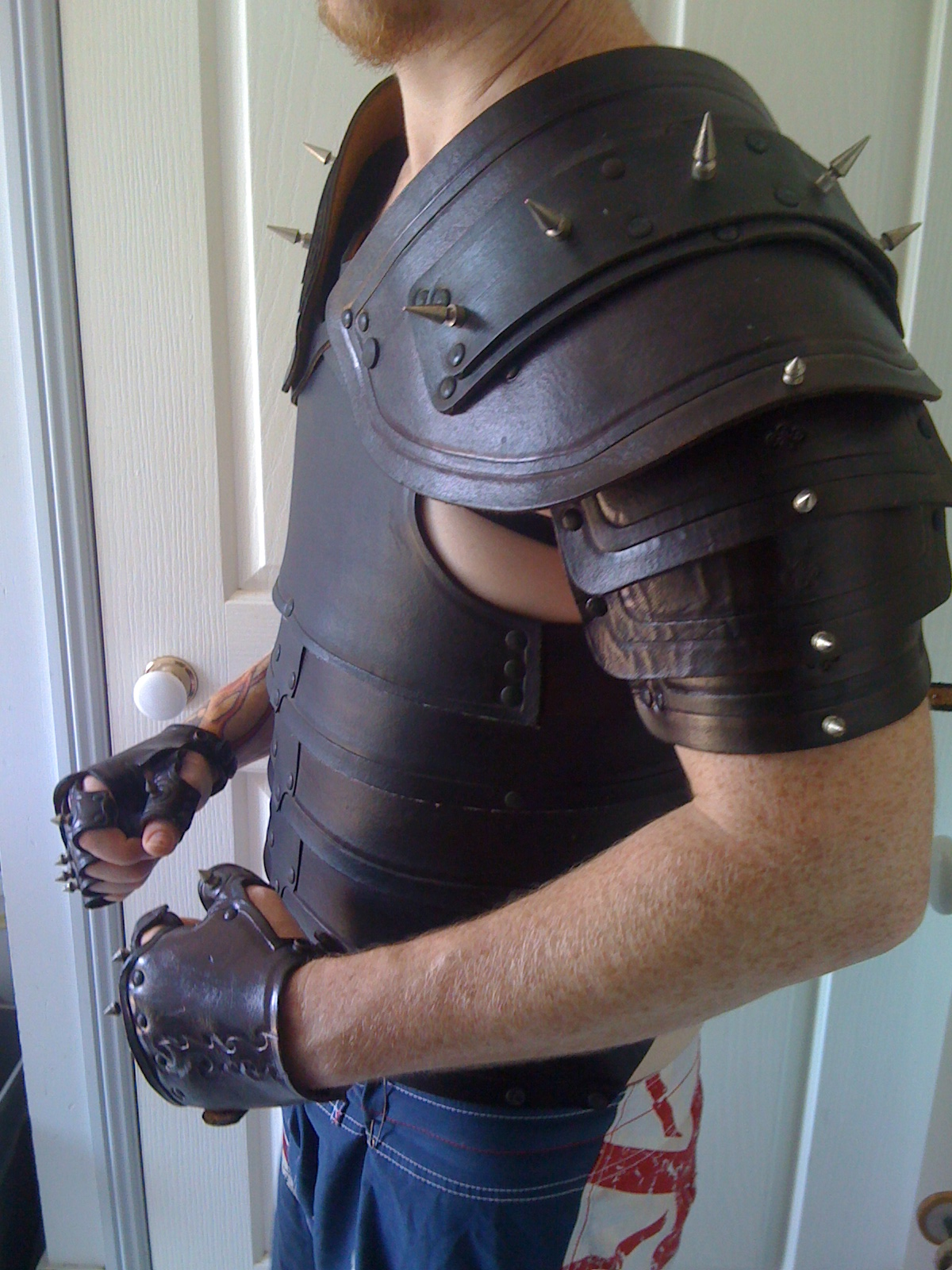 How To make Ebony armor In real Life