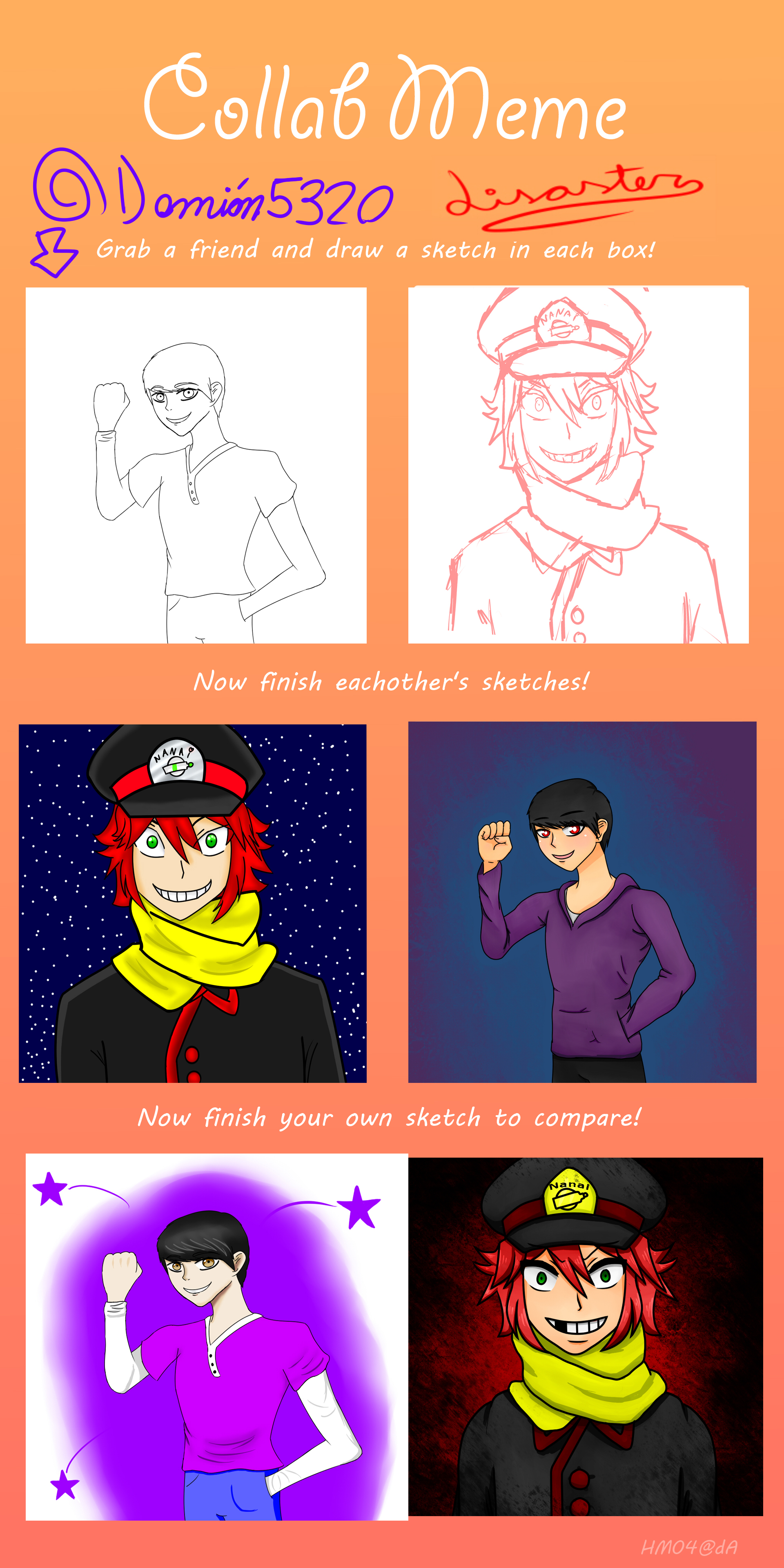 Collab con Disaster :3 by Damian5320