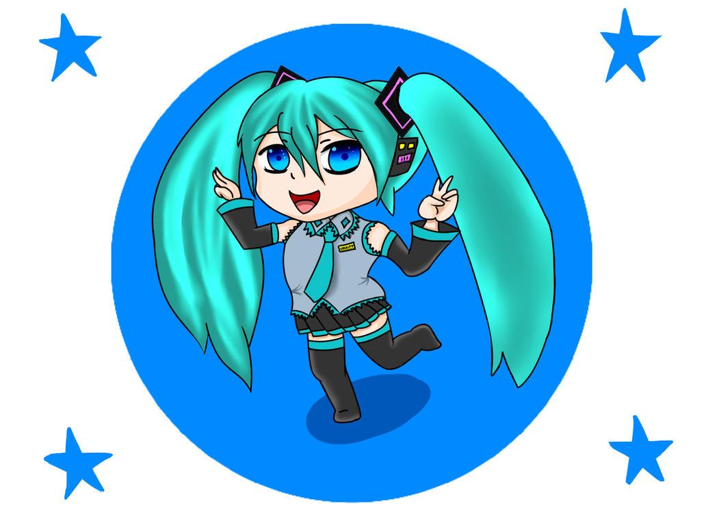 Hatsune Miku Chibi ?) by Damian5320