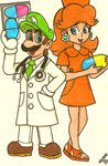 Dr. Luigi is in the house!