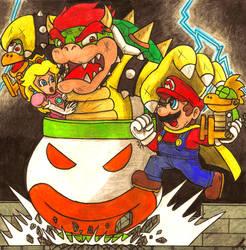 Super Mario to the rescue!! (2014) by Villaman89