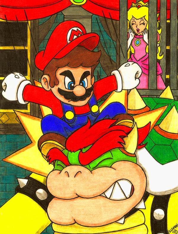 Go Mario! Go! by Villaman89