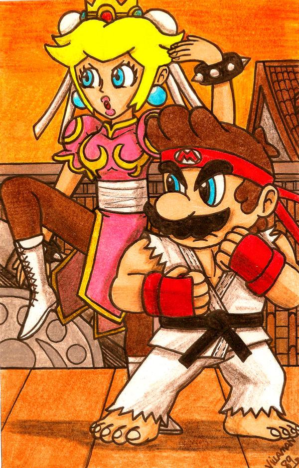 Maryu and Chun-Peach by Villaman89