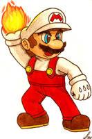 Fire Mario by Villaman89