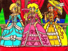 Rococo Princesses by Villaman89