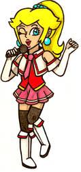 N-Pop Idol: Princess Peach by Villaman89