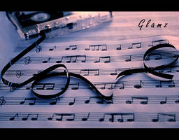 Hear the music of love play by glamz
