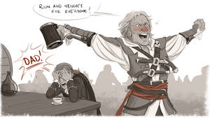 AC4: dad pls by graffitihead