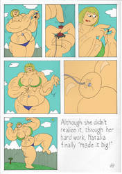 Natalie's Big Finish pg4 By EmperornortonII color by ShurikRus