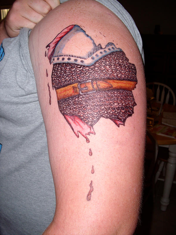 Chain Link Tattoo: Chain Mail Tattoo Idea By Irishdreamer On DeviantArt