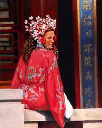 04102014 Woman in Hanfu rv sm by mauricemorganstudio