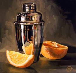 Orange and Martini