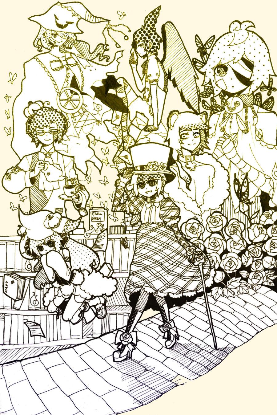 PH: Rose Bleu Mansion by manisaurus