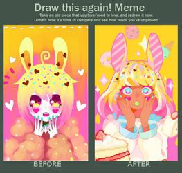 Draw this again meme by manisaurus