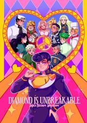 JOJO: Diamond is Unbreakable by manisaurus