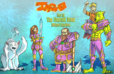 Jago Part 13 The Emerald Crest Cover Commission