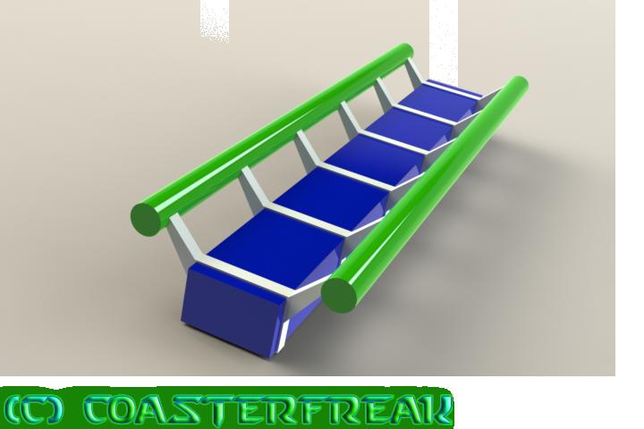 Solidworks - Roller Coaster Track Render 1 by Coasterfreak on ...