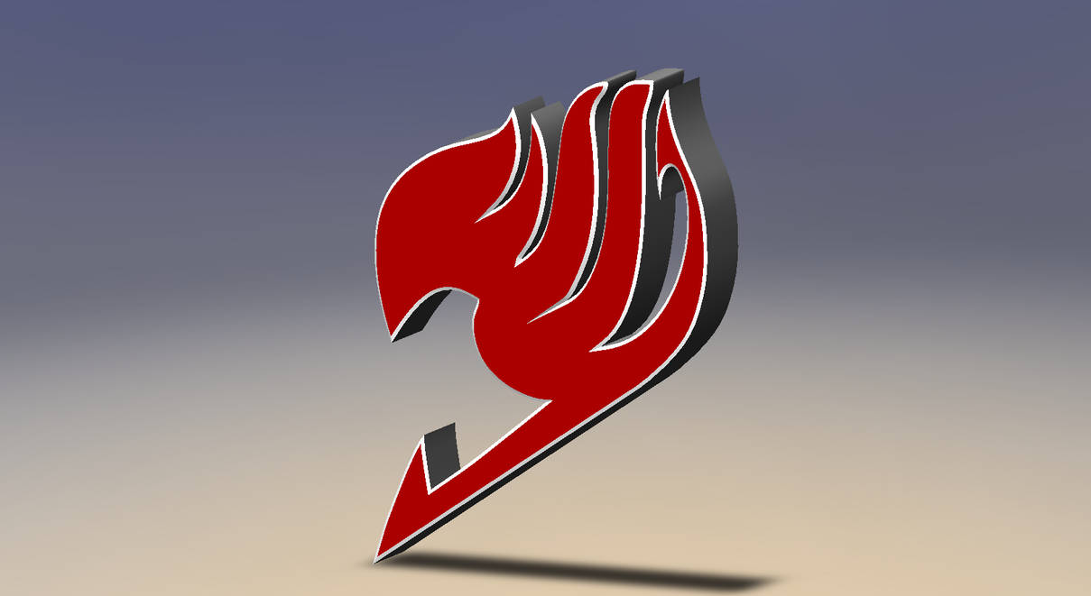 Solidworks - Fairytail Symbol by Coasterfreak on DeviantArt