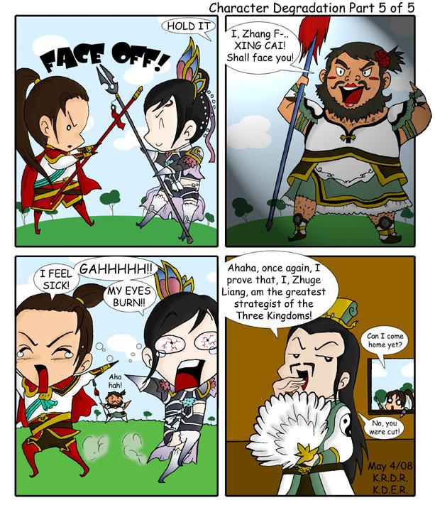 Character Degradation Part 5 by cutepiku