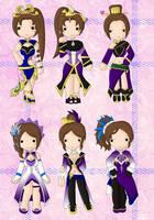 DW - The Transformation Zhen Ji by cutepiku