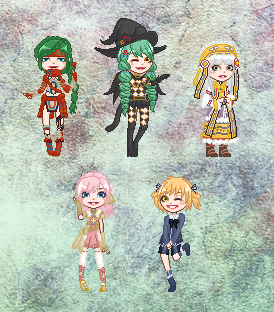 SO5 - Doll Collection by cutepiku