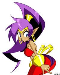 Shantae by papawaff