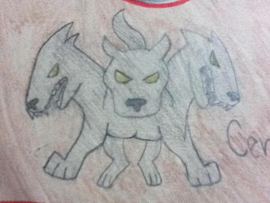 How To Draw Three Headed Dog