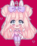 :Pixel Doll: Pastel Bunny by Usagi-Natsumi