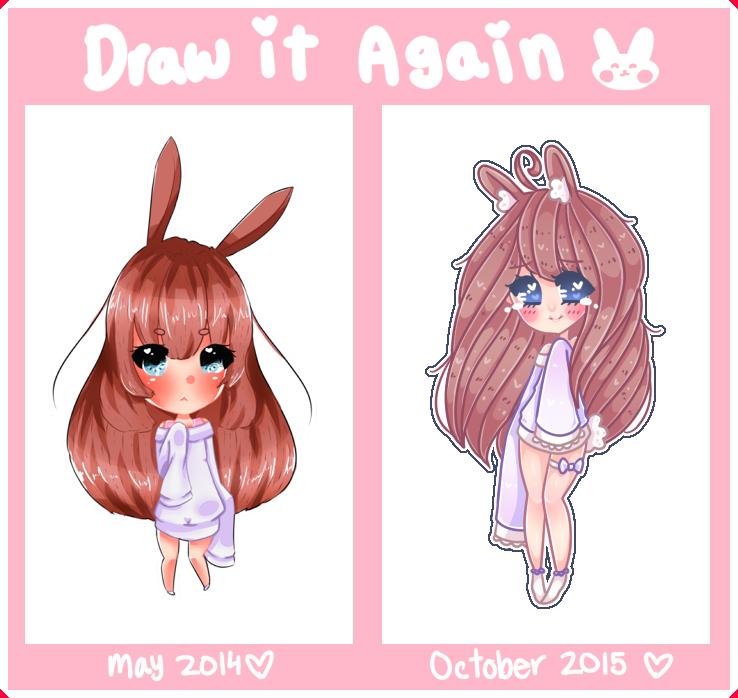 :MEME: Draw It Again - Minako by Usagi-Natsumi
