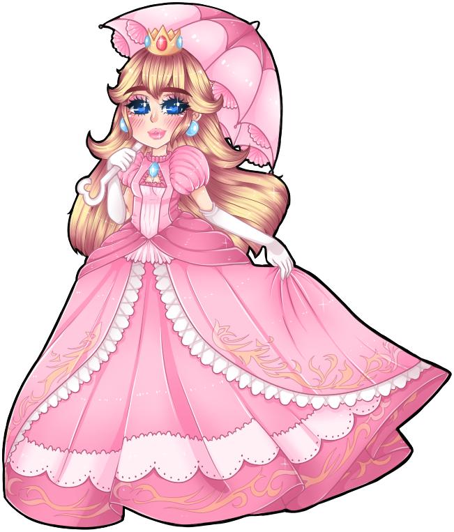 Princess Peach by Usagi-Natsumi