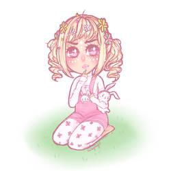 Sketched Chibi by Usagi-Natsumi