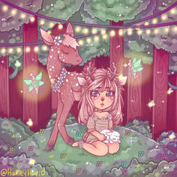Deerly Love by Usagi-Natsumi